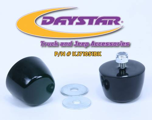 Accessories - Bump Stops - Daystar Suspension - KJ71051BK | Jeep Hood Bumpers
