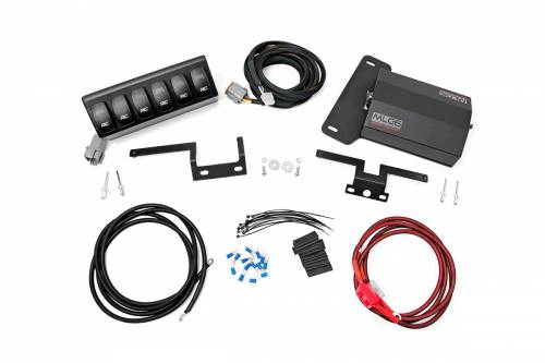 Interior - Switches & Housings - Rough Country Suspension - 70959 | Jeep Multiple light Controller