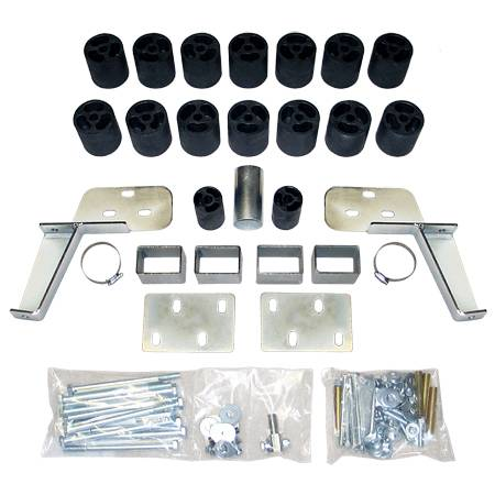 Suspension - Body Lift Kits - Performance Accessories - PA10013 | 3 Inch GM Body Lift Kit