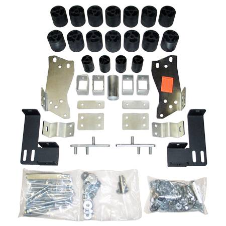 Suspension - Body Lift Kits - Performance Accessories - PA10053 | 3 Inch GM Body Lift Kit (Non HD)