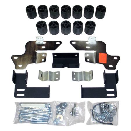 Suspension - Body Lift Kits - Performance Accessories - PA10073 | 3 Inch GM Body Lift Kit (With Body Cladding)