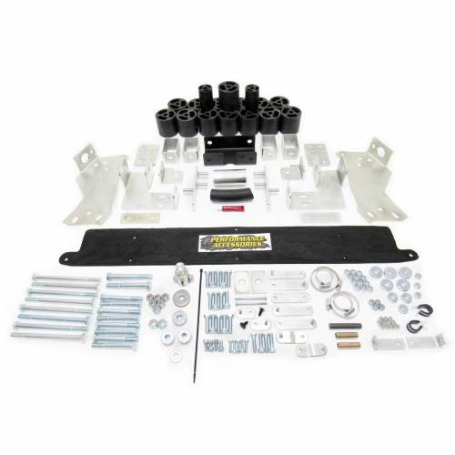 Suspension - Body Lift Kits - Performance Accessories - PA10093 | 3 Inch GM Body Lift Kit (Gas Engine ONLY)
