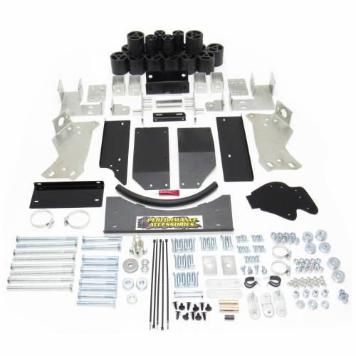 Suspension - Body Lift Kits - Performance Accessories - PA10123 | 3 Inch GM Body Lift Kit (Diesel Engine ONLY)