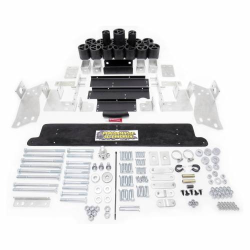 Performance Accessories - PA10163 | 3 Inch GM Body Lift Kit (Manual Trans Requires 4701)