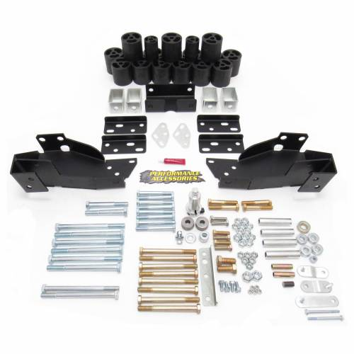 Suspension - Body Lift Kits - Performance Accessories - PA10193 | 3 Inch GM Body Lift Kit