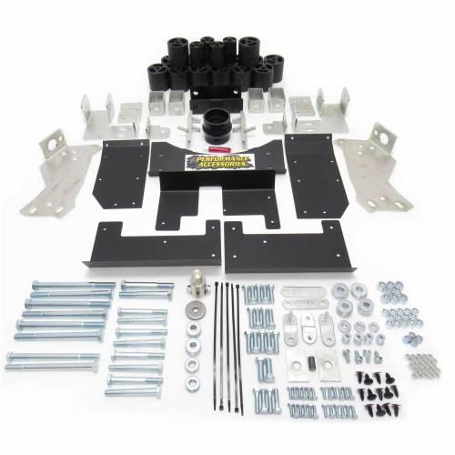 Suspension - Body Lift Kits - Performance Accessories - PA10203 | 3 Inch GM Body Lift Kit (Diesel Engine ONLY)