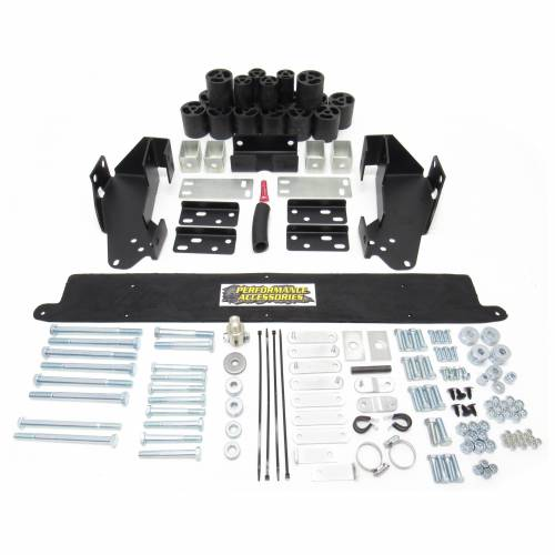 Suspension - Body Lift Kits - Performance Accessories - PA10243 | 3 Inch GM Body Lift Kit (Gas Engine ONLY)