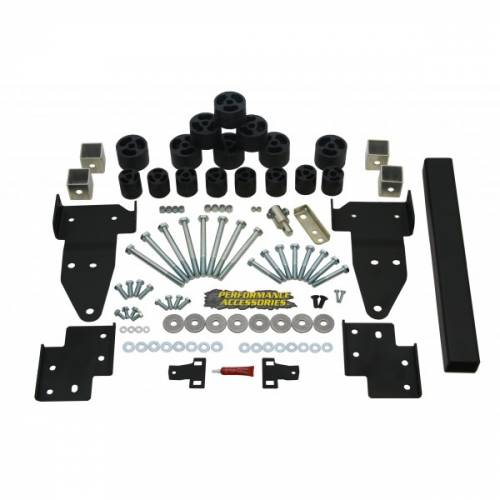 Suspension - Body Lift Kits - Performance Accessories - PA10322 | GM 2 Inch Body Lift Kit