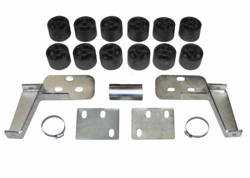 Performance Accessories - PA122 | 2 Inch GM Body Lift Kit (Exlcudes Denali)