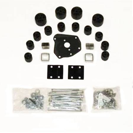 Performance Accessories - PA5502M | 2 Inch Toyota Body Lift Kit (Automatic Transmission Requires 9628)