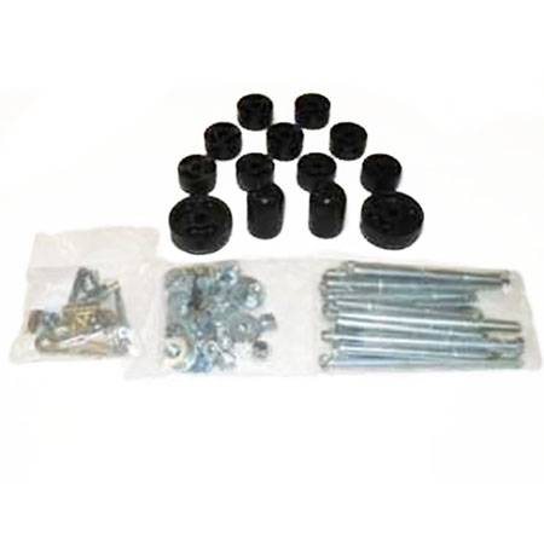 TJ Wrangler - TJ Body Lifts - Performance Accessories - PA951 | 1 Inch Jeep Body Lift Kit