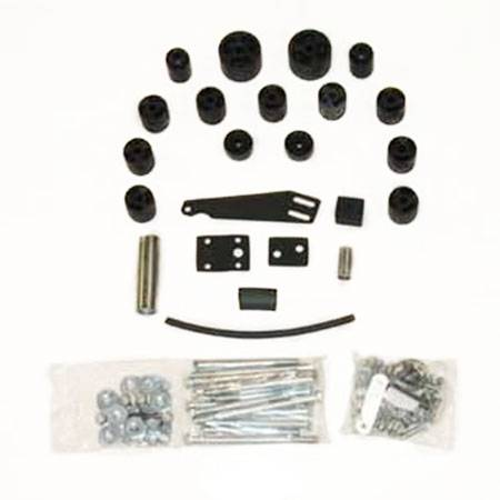 TJ Wrangler - TJ Body Lifts - Performance Accessories - PA972 | 2 Inch Jeep Body Lift Kit