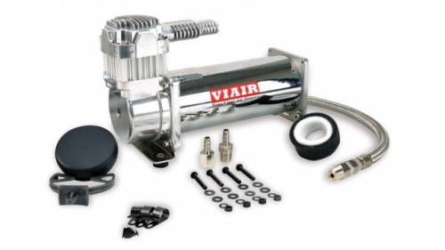 Air Lift Performance - 16444 | Viar 444C Chrome Air Compressor | 200 Psi