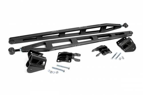 Suspension Components - Traction Bars - Rough Country Suspension - 81000 | Nissan Traction Bar Kit