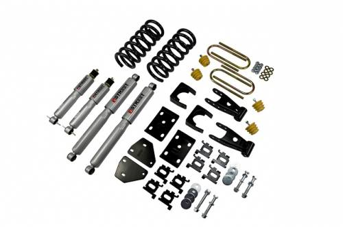 Suspension Components - Accessories - Belltech Suspension - 812SP | Complete Belltech 2/5 Lowering Kit with Street Performance shocks