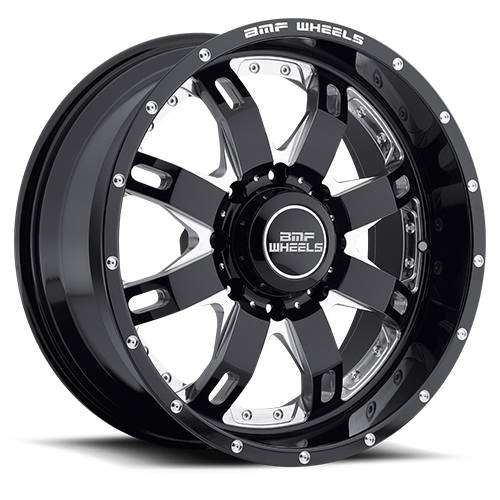 Wheels - BMF Wheels - BMF Wheels - 465B-090817000 | 20X9 R.E.P.R. Death Metal 8X170, 0mm