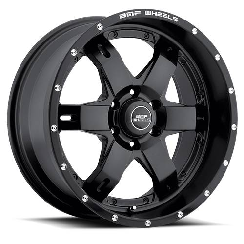 BMF Wheels - 464SB-090613900 | 20X9 REHAB Stealth Black 6x5.5, 0mm