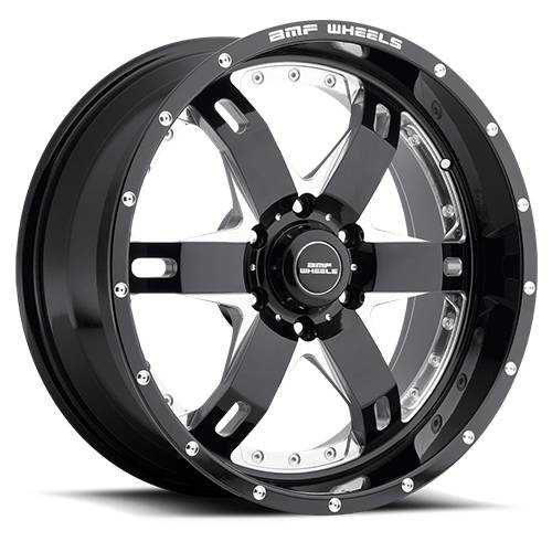 Wheels - BMF Wheels - BMF Wheels - 465B-090613900 | 20X9 R.E.P.R. Death Metal 6x5.5, 0mm