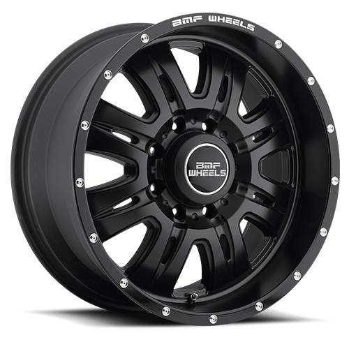 Wheels - BMF Wheels - BMF Wheels - 464SB-090816500 | 20X9 REHAB Stealth Black 8x6.5, 0mm