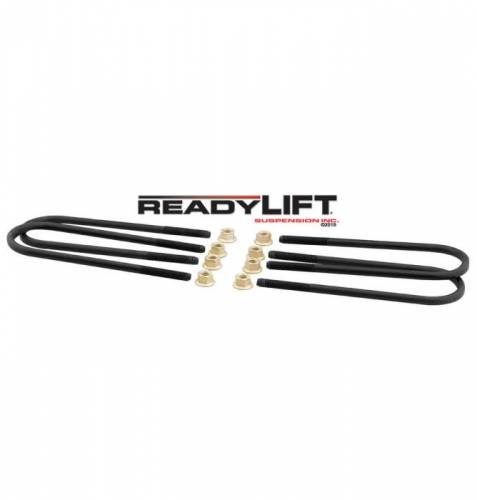 Suspension Components - Block & U Bolt Kits - ReadyLIFT Suspensions - 67-2094UB | Ford U Bolt Kit (365mm)