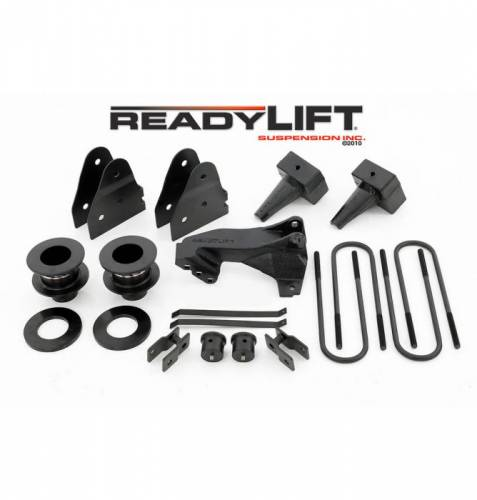 Suspension - Suspension Lift Kits - ReadyLIFT Suspensions - 69-2538 | 3.5 Inch Ford SST Lift Kit - 3.5 F / 1.0-3.0 R