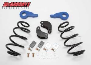 Mcgaughys Suspension Parts - 11008 | Complete 2/3 Economy Lowering Kit