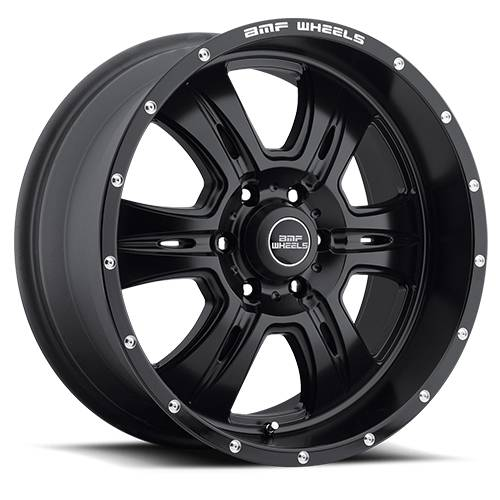 Wheels - BMF Wheels - BMF Wheels - 464SB-090613900 | 20X9 REHAB Stealth Black 6x5.5, 0mm