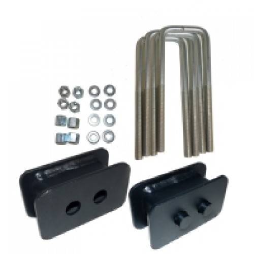 Suspension Components - Block & U Bolt Kits - Traxda - 105016 |  1 Inch Ford Rear Block & U Bolt Kit