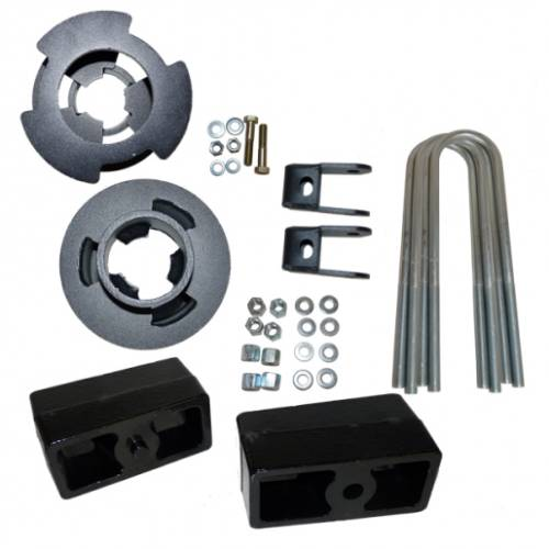 Suspension - Suspension Leveling Kits - Traxda - 108035 | 2.5 Inch Ford Leveling Kit - 2.5 F / 1.0 R