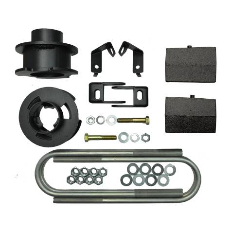 Suspension - Suspension Leveling Kits - Traxda - 108047 | 2.5 Inch Ford Leveling Kit - 2.5 F / 1.0 R