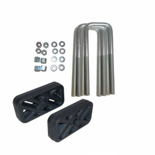 Traxda - 404086 | 1 Inch GM Rear Block & U Bolt Kit