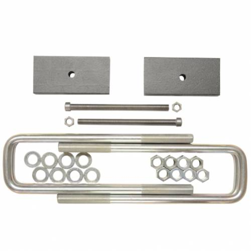 Suspension Components - Block & U Bolt Kits - Traxda - 405046 | 1 Inch GM Rear Block & U Bolt Kit