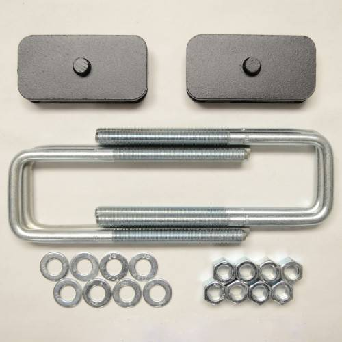 Suspension Components - Block & U Bolt Kits - Traxda - 604048 | 1 Inch Dodge Rear Block & U Bolt Kit