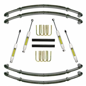 Suspension - Suspension Lift Kits - SuperLift - K722 | 1.5 Inch Jeep Suspension Lift Kit w/ Superide Shocks
