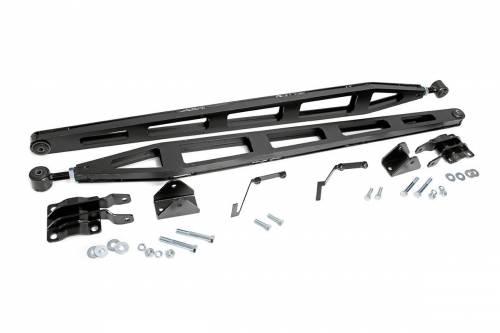 Suspension Components - Traction Bars - Rough Country Suspension - 1070A | Ford Traction Bar Kit
