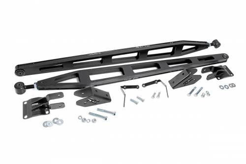 Suspension Components - Traction Bars - Rough Country Suspension - 11001 | GM Traction Bar Kit