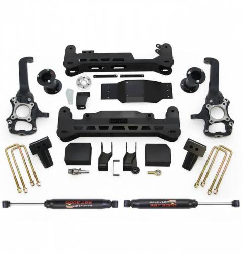ReadyLIFT Suspensions - 44-2575-K | 7 Inch Ford Suspension Lift Kit with SST3000 Shocks