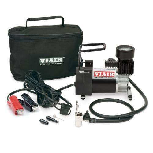 Tow & Haul - Portable Tire Management - Viair - Your Vital Air Source - 90P Portable Compressor Kit (12V, 15% Duty, 120 PSI, 30 Min. @ 30 PSI)