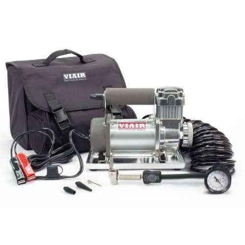 Tow & Haul - Portable Tire Management - Viair - Your Vital Air Source - 300P Portable Compressor Kit (12V, 33% Duty, 150 PSI, 30 Min. @ 30 PSI)