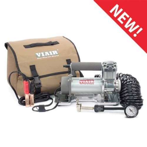Tow & Haul - Portable Tire Management - Viair - Your Vital Air Source - 400P Portable Compressor Kit (12V, 33% Duty, 150 PSI, 40 Min. @ 30 PSI)