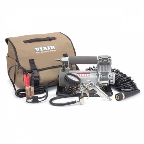 Tow & Haul - Portable Tire Management - Viair - Your Vital Air Source - 400P-Automatic Portable Compressor Kit (12V, 33% Duty, 40 Min. @ 30 PSI)