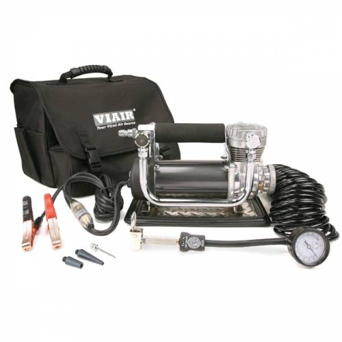 Tow & Haul - Portable Tire Management - Viair - Your Vital Air Source - 440P Portable Compressor Kit (12V, CE, 33% Duty, 150 PSI, 30 Min. @ 30 PSI)
