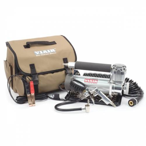 Tow & Haul - Portable Tire Management - Viair - Your Vital Air Source - 450P-Automatic Portable Compressor Kit (12V, 100% Duty, 150 PSI)