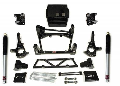 CST Suspension - CSK-C3-17-2 |GM  6-8 Inch S.T.L. High Clearance Kit | Stage 2