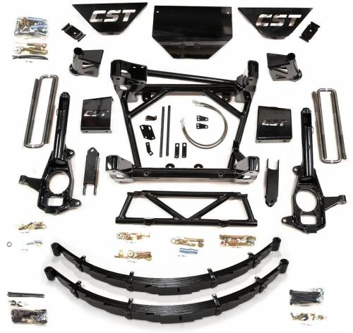 CST Suspension - CSK-C3-16-2 | GM 8-10 Inch Suspension Kit W/LEAF SPRINGS