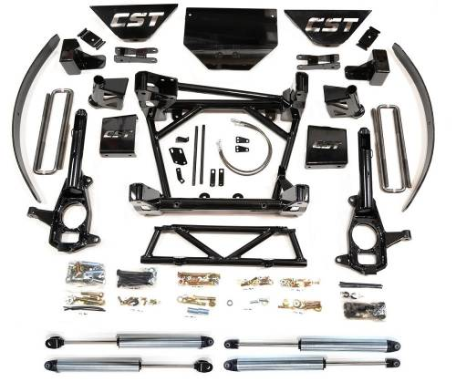 CST Suspension - CSK-C3-16-4 | GM 8-10 Inch Suspension Kit with Emulsion Shocks