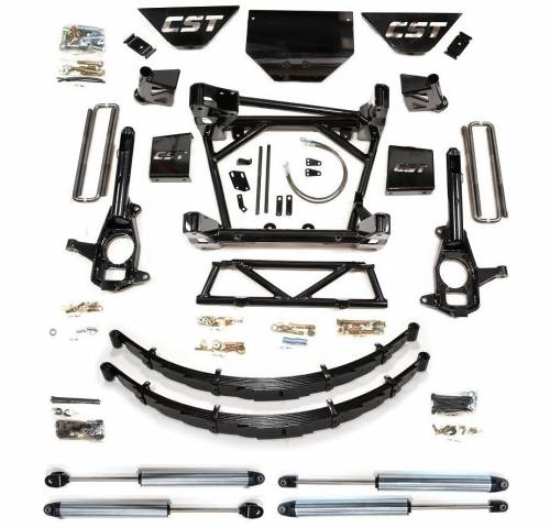 CST Suspension - CSK-C3-16-5 | GM 8-10 Inch Suspension Kit with Leaf Springs