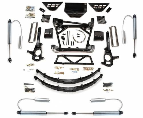 CST Suspension - CSK-C3-16-7 | GM 8-10 Inch Suspension Kit with Leaf Springs