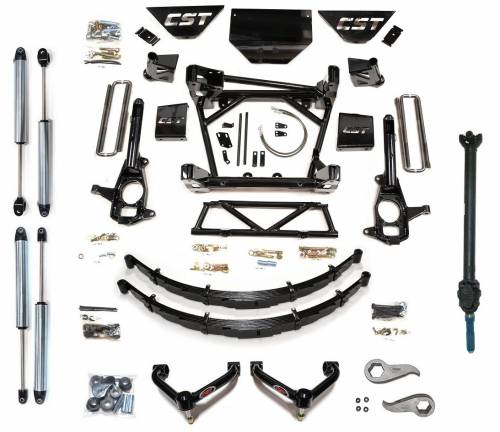 CST Suspension - CSK-C3-16-8 | GM 10 Inch Suspension Kit | Diesel