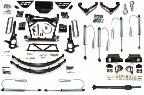 CST Suspension - CSK-C3-16-11 | GM 10 Inch Suspension Kit with Reservoir Shocks | Diesel
